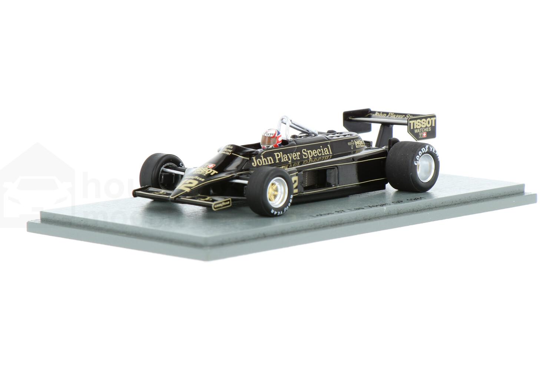 Lotus 87 - Modelauto schaal 1:43