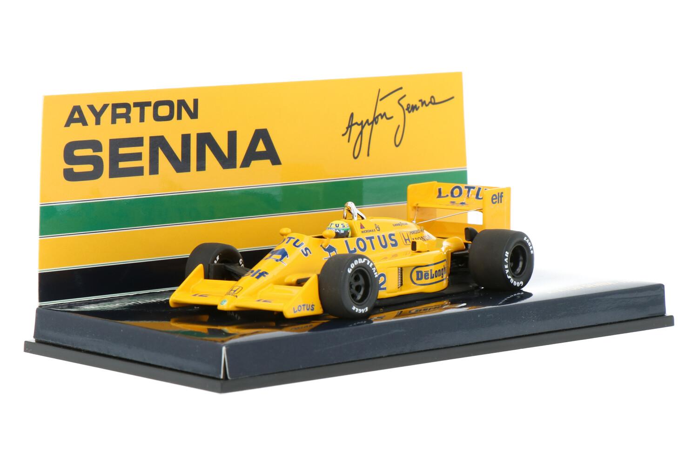Lotus Honda 99T - Modelauto schaal 1:43