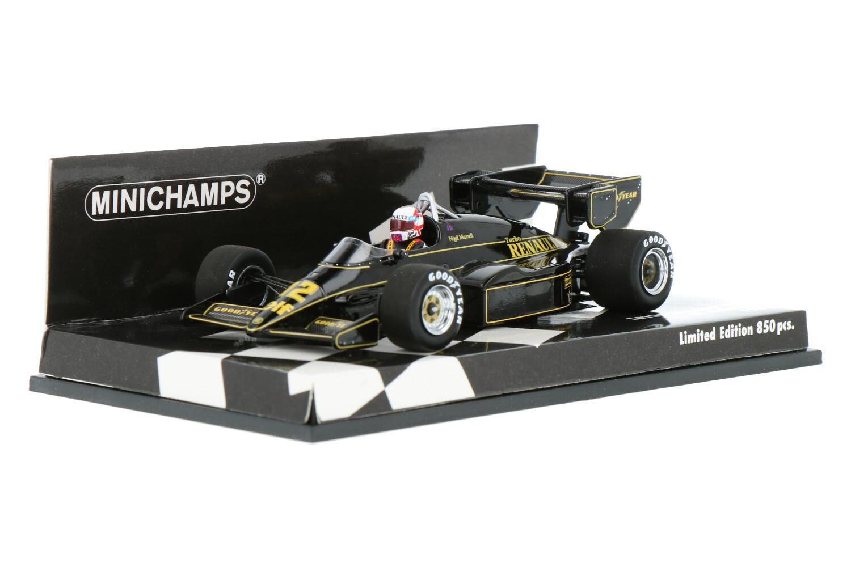 Lotus 95T - Modelauto schaal 1:43