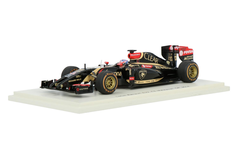 Lotus E22 - Modelauto schaal 1:43