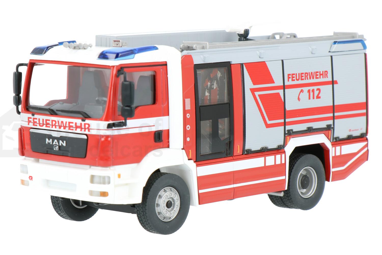 MAN Rosenbauer AT LF Feuerwehr - Modelauto schaal 1:43