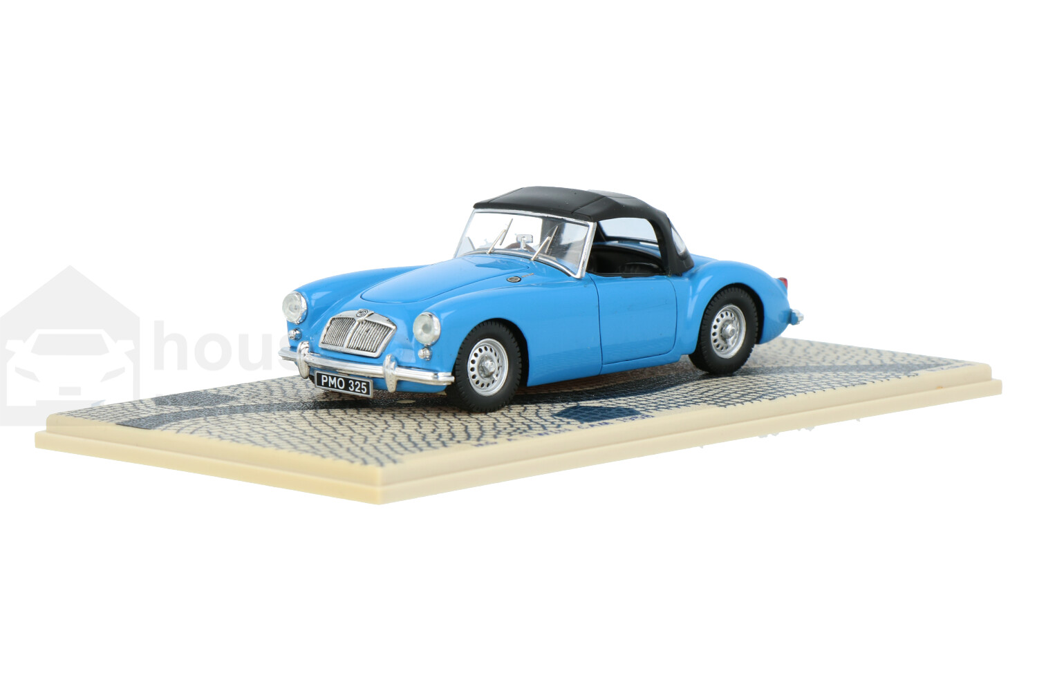 MG A Twin Cam Soft Closed Roof - Modelauto schaal 1:43