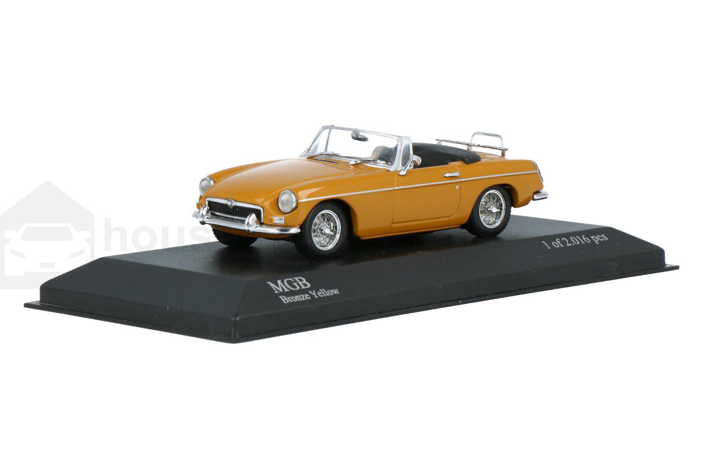 MG B Cabriolet - Modelauto schaal 1:43