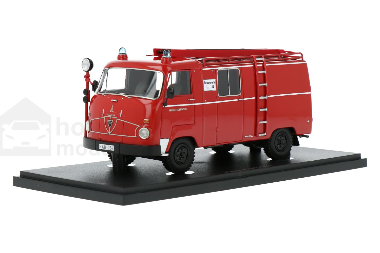 Magirus Faun F24 LF8 - Modelauto schaal 1:43