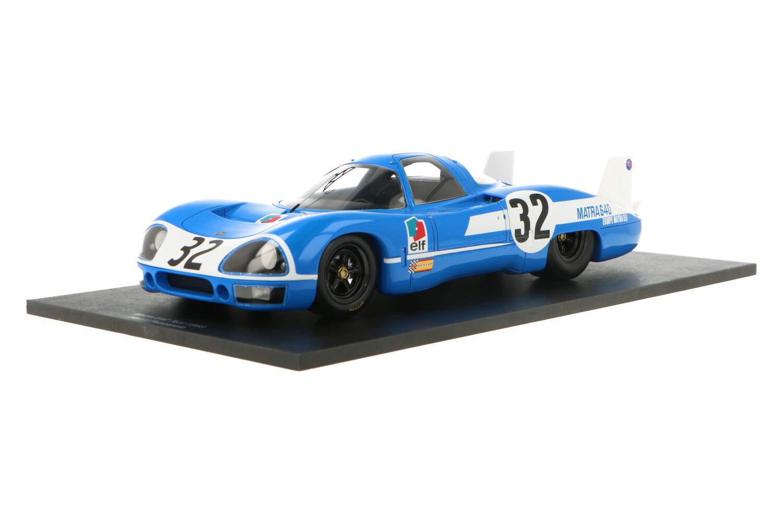 Matra 640 Test Car - Modelauto schaal 1:18