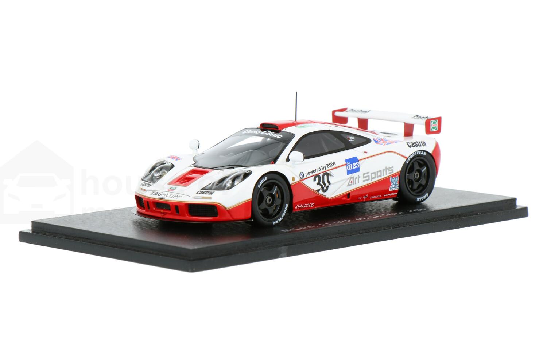 McLaren F1 GTR - Modelauto schaal 1:43