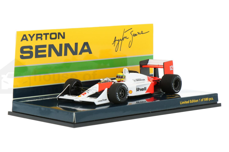 McLaren Honda MP4/4 - Modelauto schaal 1:43