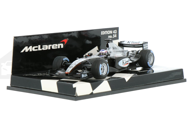 McLaren MP4-18 Testcar - Modelauto schaal 1:43