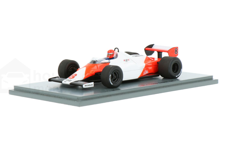 McLaren MP4-1C - Modelauto schaal 1:43