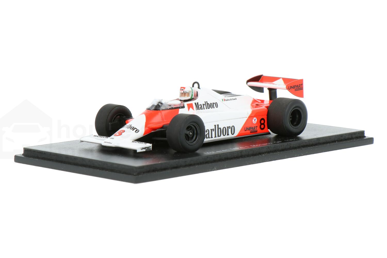 McLaren MP4-1 - Modelauto schaal 1:43