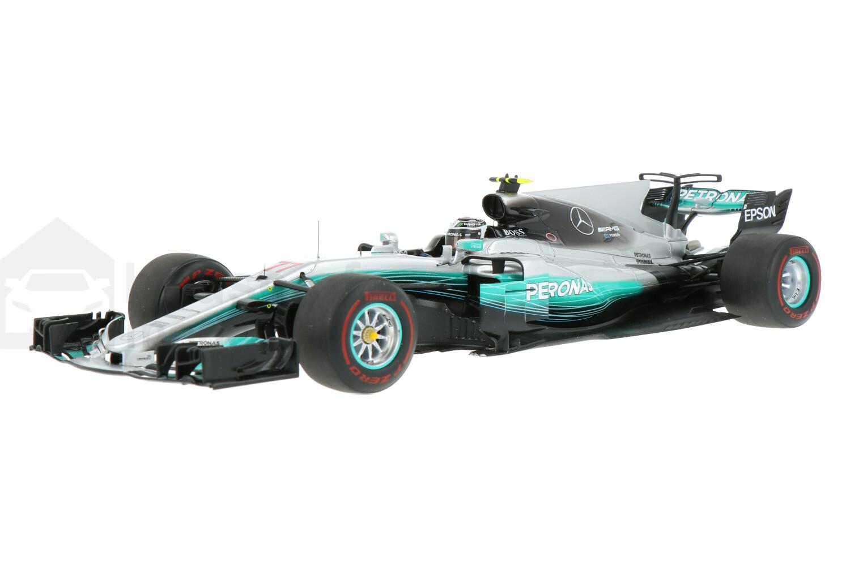 Mercedes-AMG F1 W08 EQ Power+ - Modelauto schaal 1:18