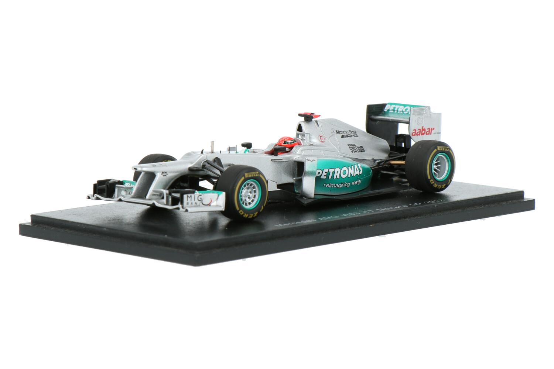 Mercedes-AMG F1 W03 - Modelauto schaal 1:43