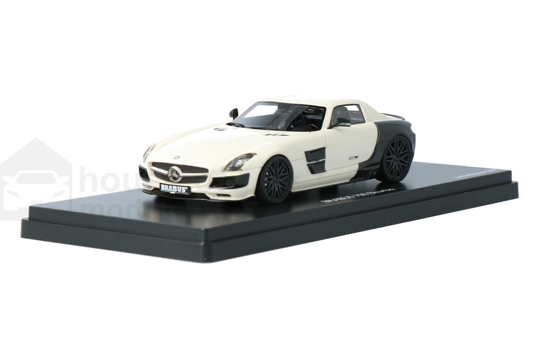 Mercedes-AMG SLS Brabus 700 Biturbo - Modelauto schaal 1:43