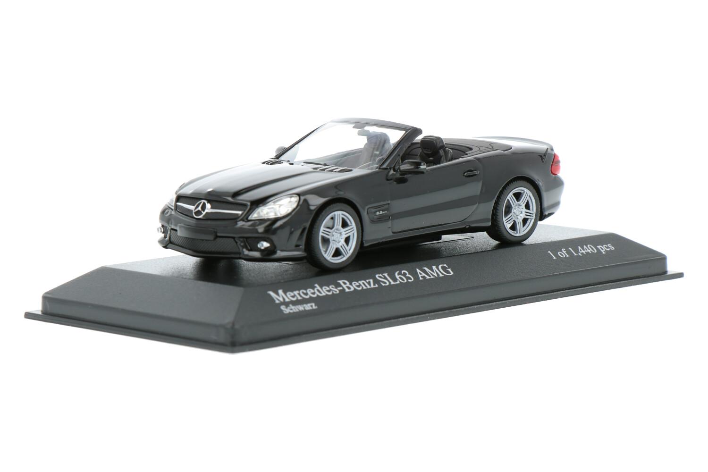 Mercedes-Benz SL63 AMG - Modelauto schaal 1:43