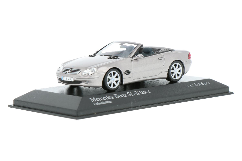 Mercedes-Benz SL Cabriolet - Modelauto schaal 1:43