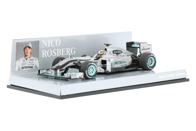 Mercedes-AMG F1 W01 - Modelauto schaal 1:43