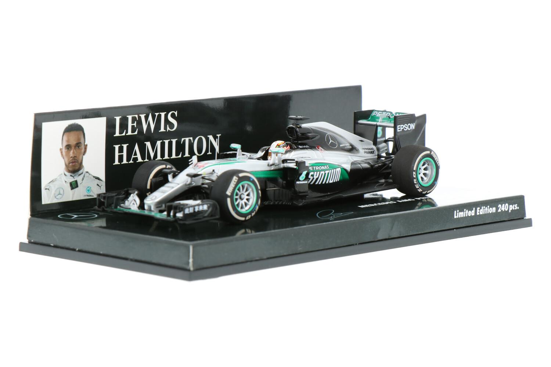 Mercedes-AMG F1 W07 - Modelauto schaal 1:43