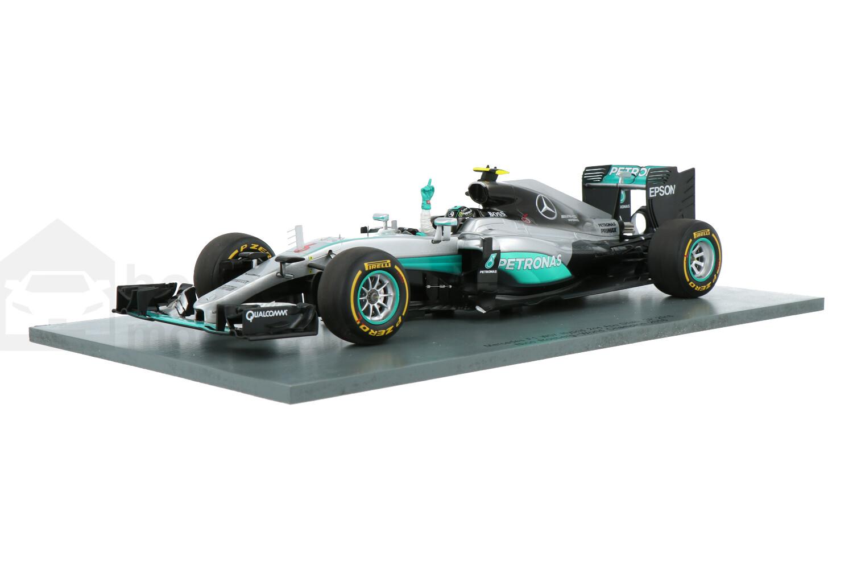 Mercedes-AMG F1 W07 Hybrid - Modelauto schaal 1:18