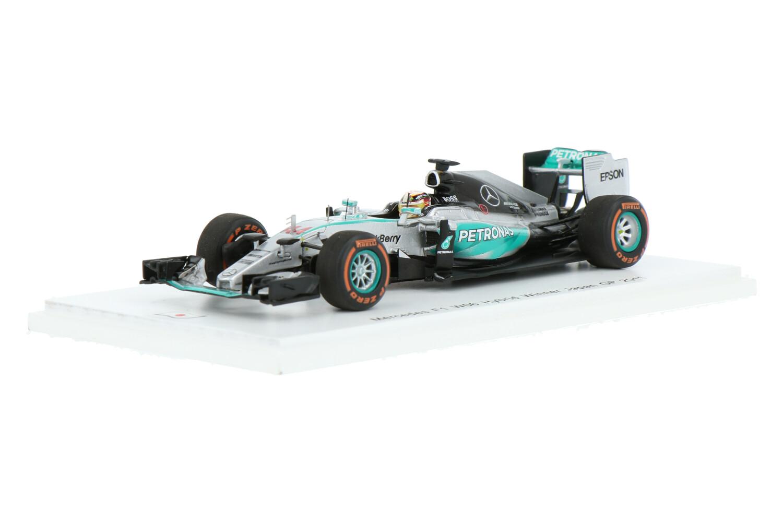 Mercedes-AMG F1 W06 Hybrid - Modelauto schaal 1:43