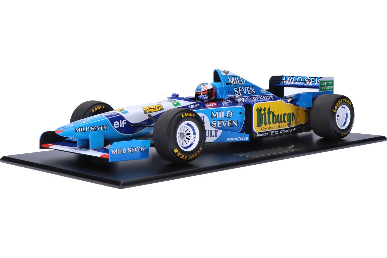 Benetton B195 Renault - Modelauto schaal 1:12