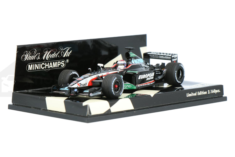 Minardi Cosworth - Modelauto schaal 1:43