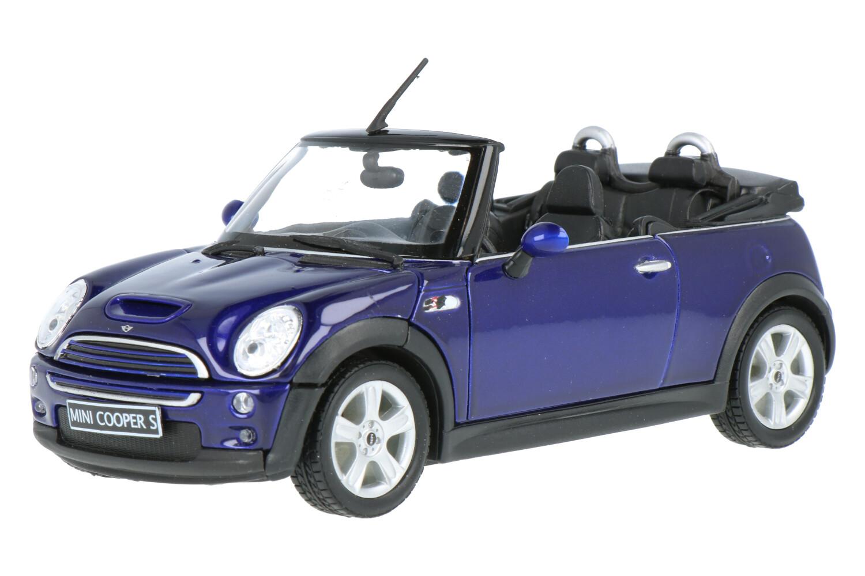 Mini Cooper S Cabriolet - Modelauto schaal 1:24
