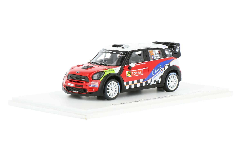 Mini Cooper John Works - Modelauto schaal 1:43