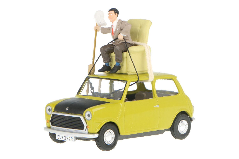 Mini Cooper Mr Bean - Modelauto schaal 1:36