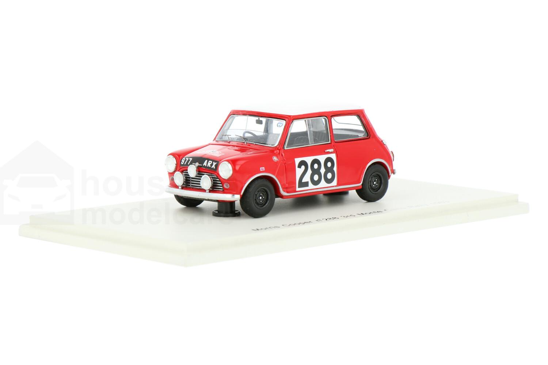 Mini Cooper Morris - Modelauto schaal 1:43