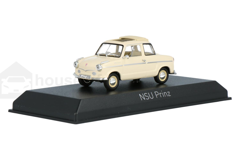 NSU Prinz II - Modelauto schaal 1:43