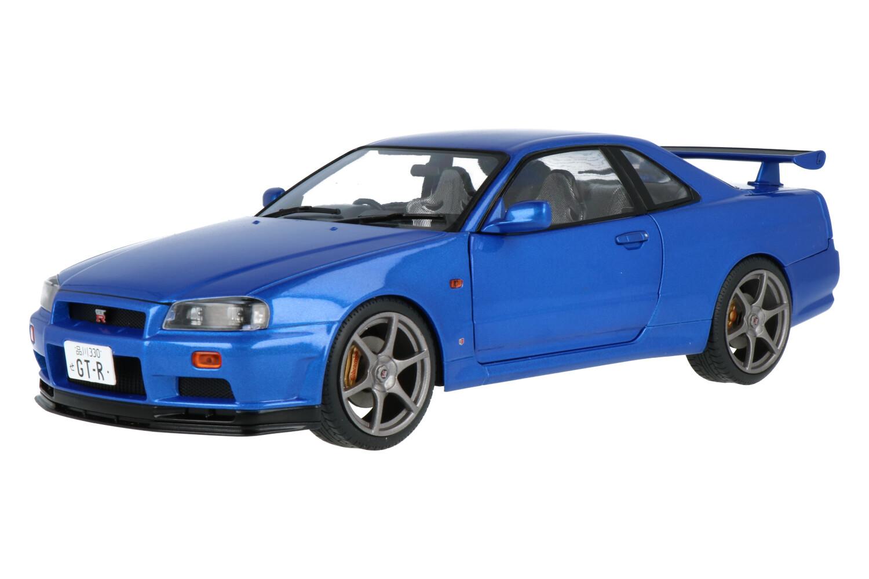 Nissan Skyline GT-R (R34) - Modelauto schaal 1:18