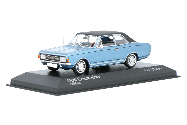 Opel Commodore A - Modelauto schaal 1:43