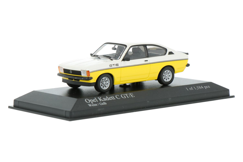 Opel Kadett C GT/E - Modelauto schaal 1:43
