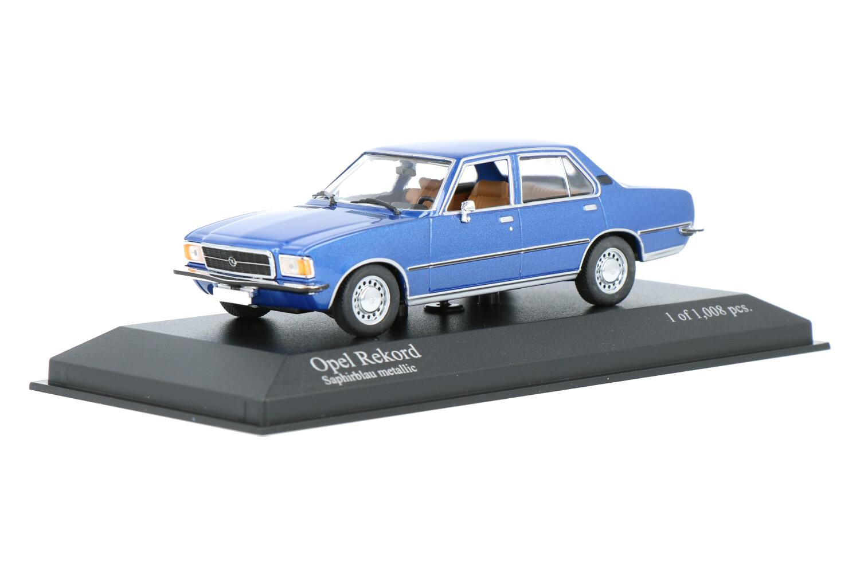 Opel Rekord - Modelauto schaal 1:43