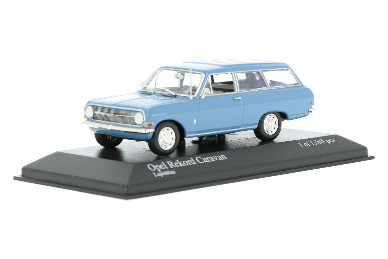 Opel Rekord A Caravan - Modelauto schaal 1:43