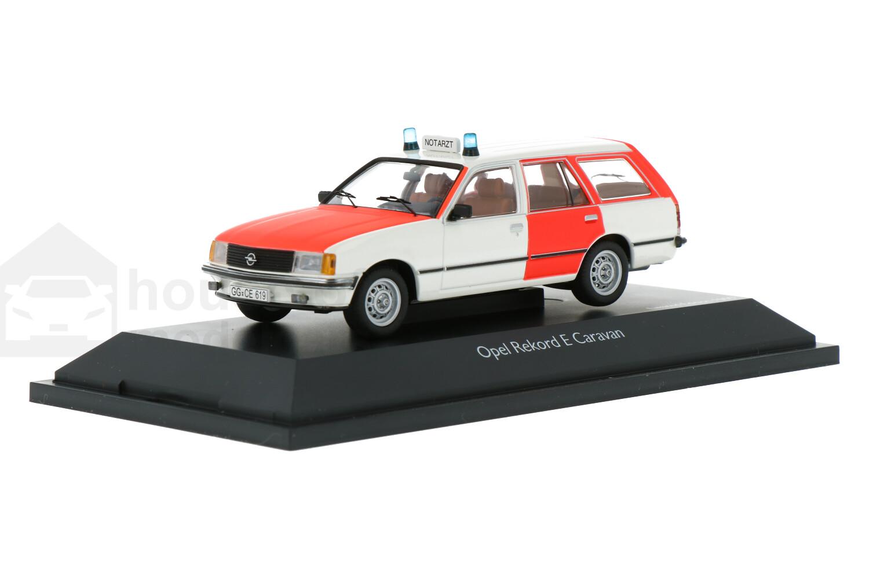 Opel Rekord E caravan - Modelauto schaal 1:43