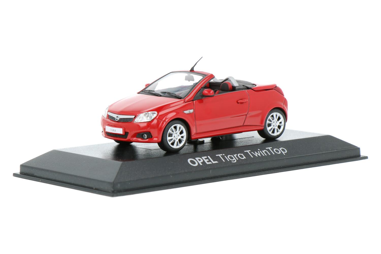Opel Tigra TwinTop - Modelauto schaal 1:43