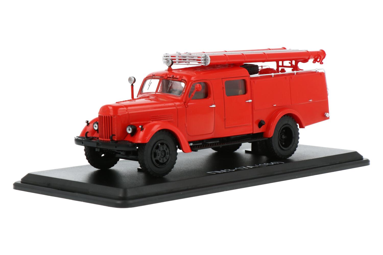 PMZ 17A Fire Truck ZIL 164 Chassis - Modelauto schaal 1:43