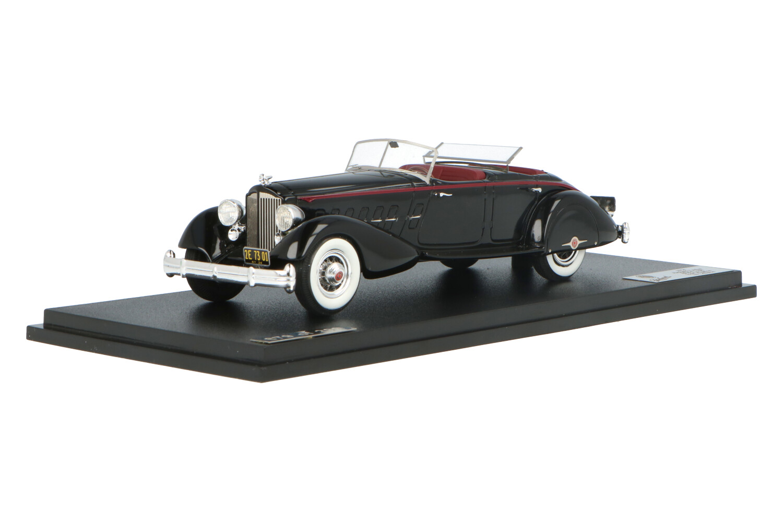 Packard Twelve 1108 Sport Phaeton - Modelauto schaal 1:43