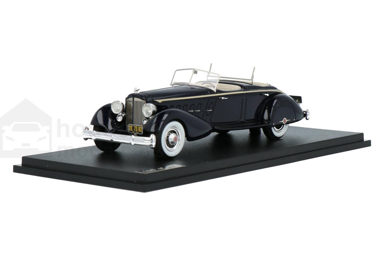 Packard Twelve Model 1108 LeBaron Sport Phaeton  - Modelauto schaal 1:43