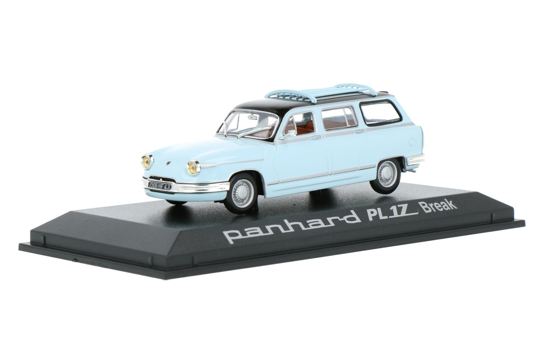 Panhard PL 17 Break - Modelauto schaal 1:43