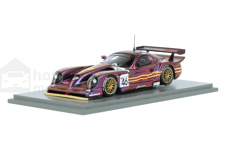 Panoz Esperante GTR-1 Q9 Hybrid Sparky - Modelauto schaal 1:43