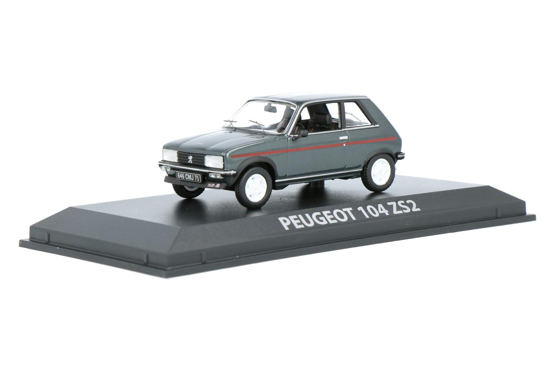Peugeot 104 ZS2 - Modelauto schaal 1:43