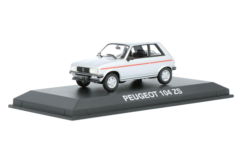 Peugeot 104 ZS - Modelauto schaal 1:43