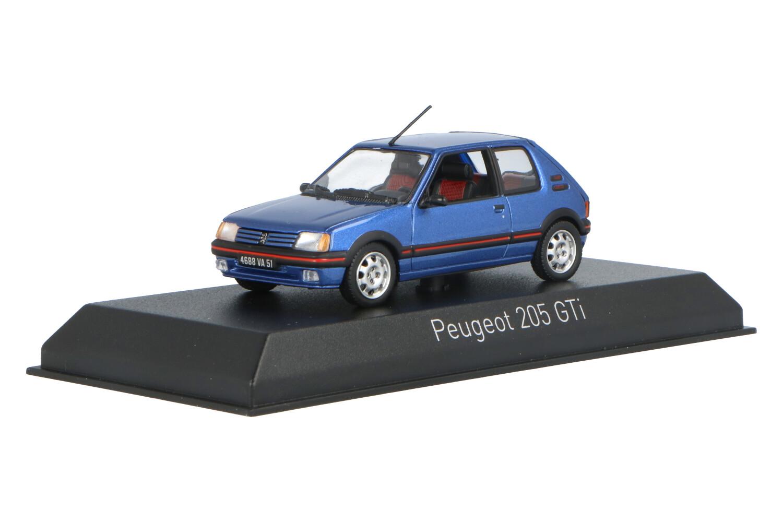 Peugeot 205 GTI - Modelauto schaal 1:43