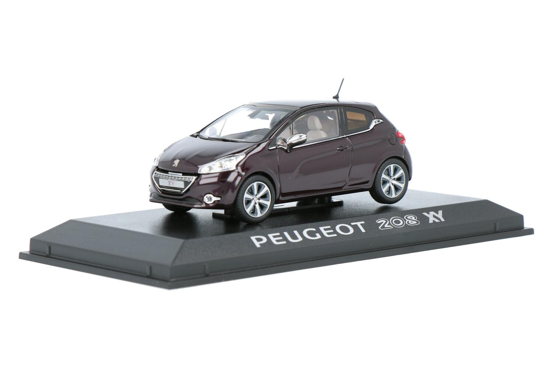 Peugeot 208 XY - Modelauto schaal 1:43