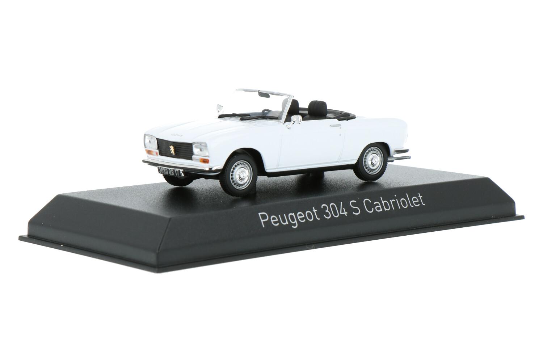 Peugeot 304 S Cabriolet - Modelauto schaal 1:43
