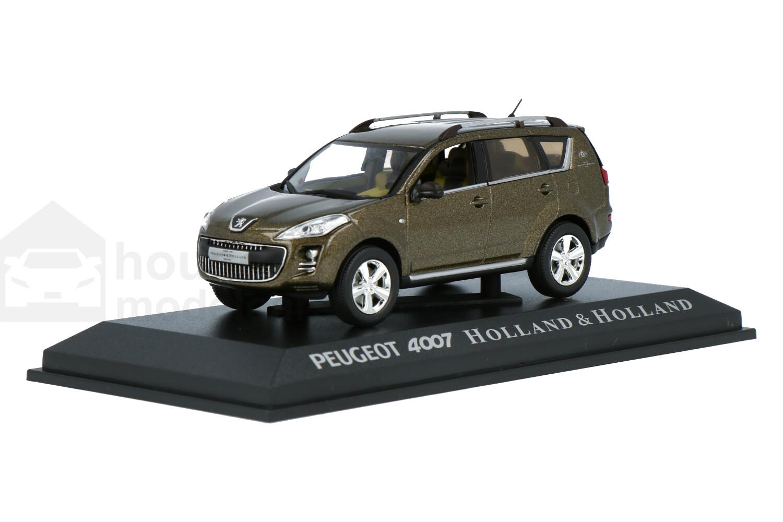 Peugeot 4007 Holland & Holland - Modelauto schaal 1:43