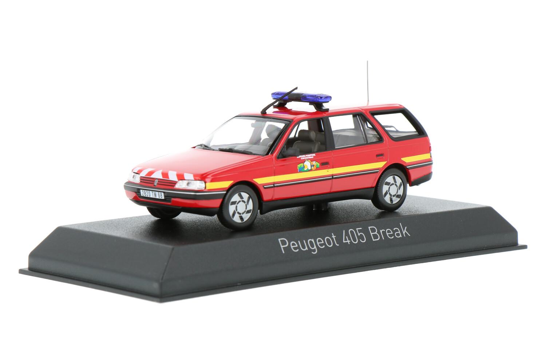 Peugeot 405 Break - Modelauto schaal 1:43