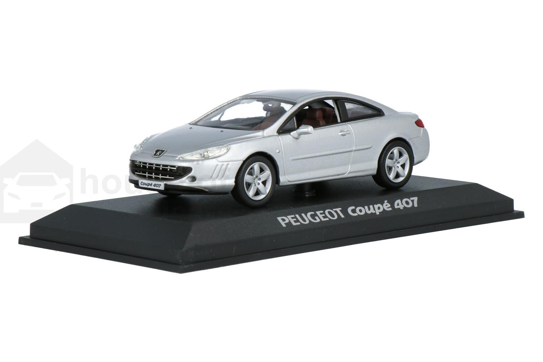 Peugeot 407 Coupé - Modelauto schaal 1:43